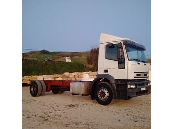 IVECO Eurotech 190E31 left hand drive 19 ton ZF manual - châssis cabine