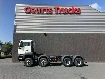 MAN TGS 41 440 8X8 TIPPER CHASSIS UNUSED  - châssis cabine