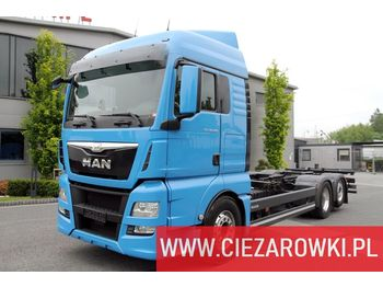 MAN TGX 26.480 XLX E6 6x2 Retarder BDF / manual / 4800mm / 2 x bed - châssis cabine