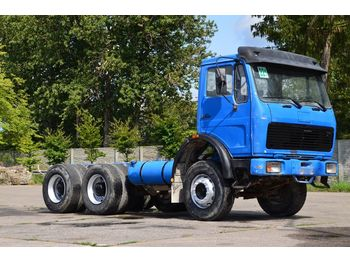 MERCEDES-BENZ 2222 6x4 1988 chassis - châssis cabine