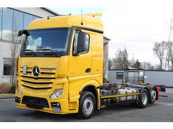MERCEDES-BENZ ACTROS 2542 E6 BDF CHASSIS - châssis cabine
