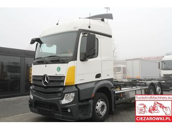 MERCEDES-BENZ ACTROS 2542 / MP4 / 6x2 / E6 / BDF CHASSIS / RETARDER / - châssis cabine