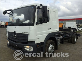 MERCEDES-BENZ NEW UNUSED ATEGO 1518 EURO 6 CHASSIS WITH BED - châssis cabine