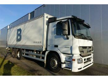 Châssis cabine Mercedes-Benz ACTROS 2532 6X2 BOX DAY CABIN EURO 5