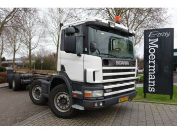 Châssis cabine Scania P 114G 340 8x2*6 Fahrgestell