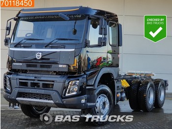 Volvo FMX 500 RHD 6X4 RHD VEB+ Big-Axle Steelsuspension Euro 6 - châssis cabine