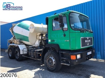 Camion MAN 27 322 6x4, Liebherr, 6 M3, Manual, Steel suspension, Hub reduction