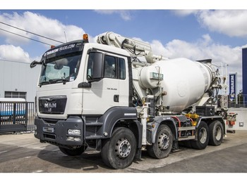 MAN TGS 32.400 EURO5 + POMPE - camion