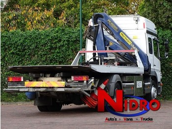 Mercedes-Benz ATEGO 1328 TOWTRUCK, 10 TM CRANE, WHEEL-LIFT, WINCH - camion