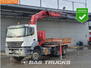 Mercedes-Benz Axor 3340 6X4 K Manual Big-Axle Euro 3 Fassi F380A.24 - camion