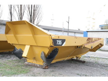 CATERPILLAR KIPPER TIPPER BODY DUMPER CATERPILLAR CAT 735 FLAP DOOR - benne pour poids lourds