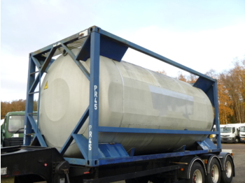 UBH Food (beer) tank container 20 ft / 23.6 m3 / 1 comp - carrosserie citerne