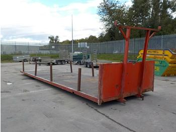 Carrosserie plateau Flat Bed Trailer Body: photos 1
