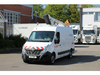 Camion avec nacelle Renault Master Dci Versalift ETL26 11m/551h/Klima/HU+UVV