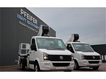 Camion avec nacelle Ruthmann TB270.3 Driving Licence B/3. Volkswagen Crafter TD