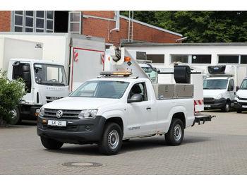 Camion avec nacelle Volkswagen Amarok 4x4 E5/Versalift 14m/2 Pers.Korb/Klima