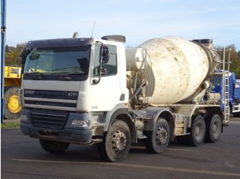 Camion malaxeur DAF CF 85-360 8x4 / Liebherr 9m³