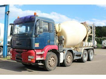 Camion malaxeur MAN TGA 32390 8X4   9m³