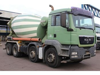Camion malaxeur MAN TGS 32.360 8x4 9m Liebherr