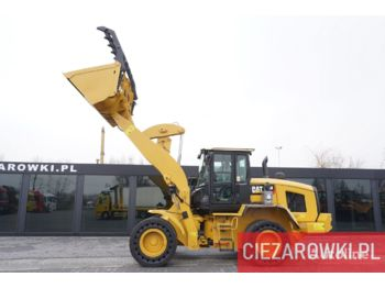 Chargeuse sur pneus CATERPILLAR 938M , 17.5t , grab bucket , auto-greasing , cab air filter , jo