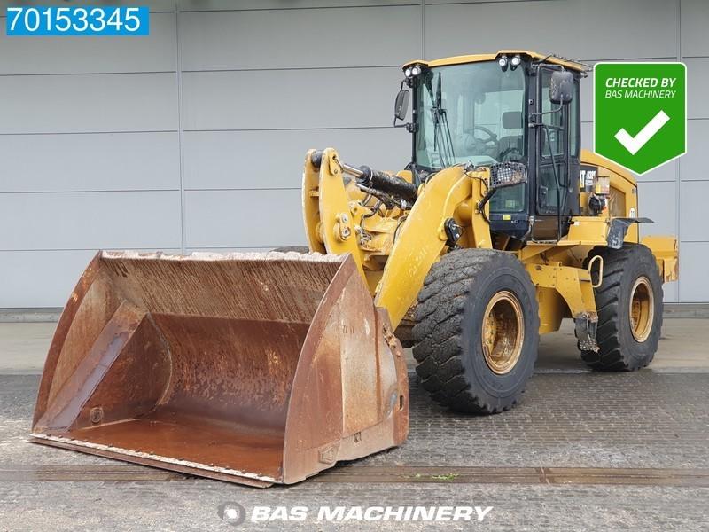 chargeuse sur pneus Caterpillar 938K GERMAN DEALER MACHINE - HIGH TIP BUCKET