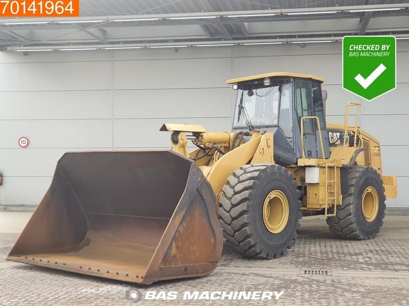 chargeuse sur pneus Caterpillar 966H FULL STEERING - 80% TYRES