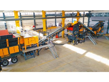 FABO MCK-95 MOBILE CRUSHING & SCREENING PLANT | JAW+CONE - concasseur