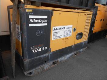 Groupe électrogène Atlas copco QAS60