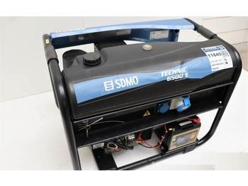 Groupe électrogène Sdmo Technic 6500E AVR Gasoline, Single Phase, KVA 8.15