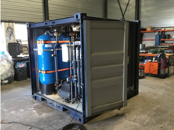 L'équipement de construction Engeldot Container Grey Water Filtration Machine