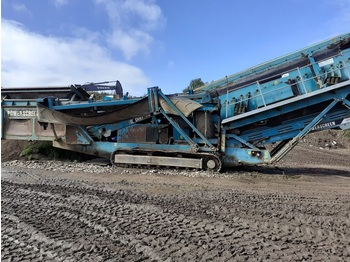 Powerscreen Chieftain 2100 - machine d'exploitation minière