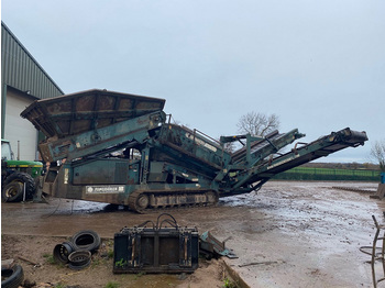 Powerscreen Warrior 1400 - machine d'exploitation minière