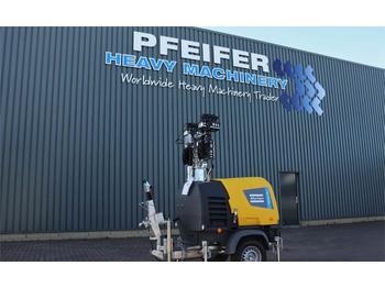 Mat d'éclairage Atlas Copco HILIGHT H6+ NEW, Valid inspection, *Guarantee! Max