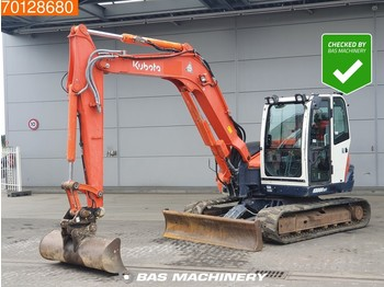 Kubota KX080-3 Bucket - all functions - mini pelle