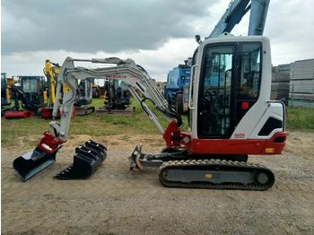 Mini pelle Takeuchi TB225 *Powertilt