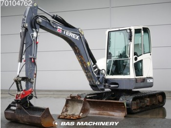 Terex TC50 German machine - 2 buckets - mini pelle