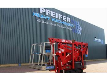 Nacelle articulée CTE CS170E Valid inspection, *Guarantee! Bi-Energy, 17