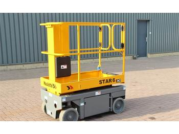 Nacelle articulée Haulotte STAR 6AC Electric, 4x2 Drive, 5.8m Working Height,