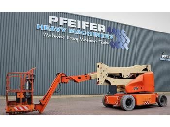 JLG E400AJPN Electric, 14.2m Working Height, Rotating  - nacelle articulée