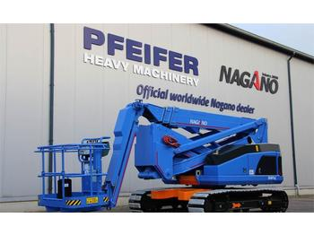 Nacelle articulée Nagano 20ATUJ Tracked Articulating Boomlift, 20m Working