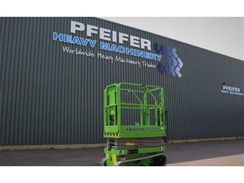 Nacelle ciseaux FRONTEQ FS0507T New, CE Declaration, 6.7m Working