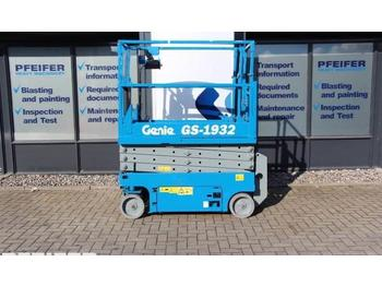 Nacelle ciseaux Genie GS1932 Electric, 7.8m Working Height.
