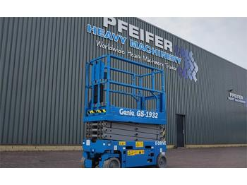 Nacelle ciseaux Genie GS1932 New And Available Directly From Stock, E-dr