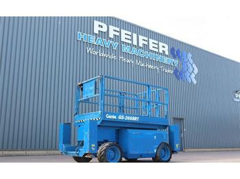 Nacelle ciseaux Genie GS2668RT Diesel, 4x4 Drive, 10m Working Height, Ro