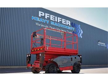 Nacelle ciseaux Haulotte COMPACT 10DX Diesel, 4x4 Drive, 10.2m Working Heig