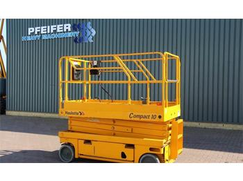 Nacelle ciseaux Haulotte COMPACT 10 Electric, 10m Working Height, Non Marki