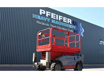 Nacelle ciseaux Haulotte COMPACT 12DX Diesel, 4x4 Drive, 12.2m Working Heig