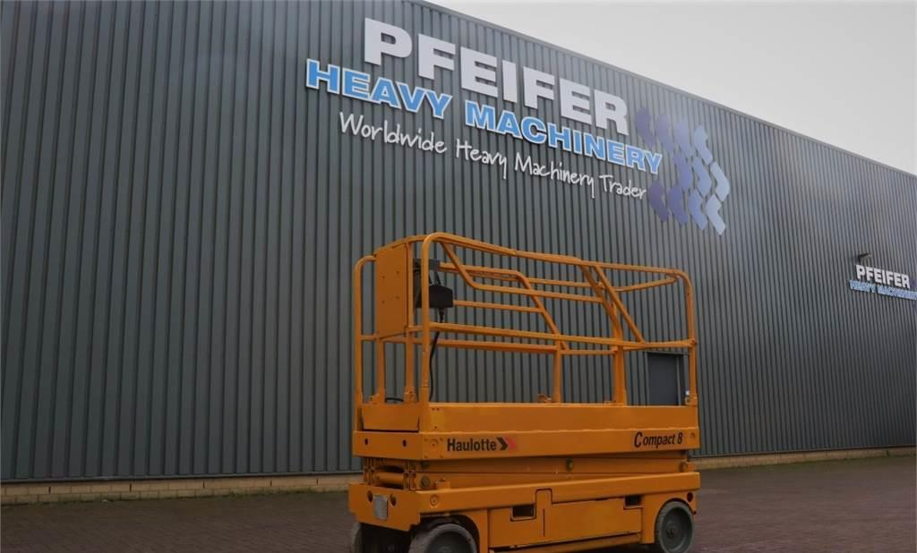 nacelle ciseaux Haulotte COMPACT 8 Electric, 8.2m Working Height, Non Marki