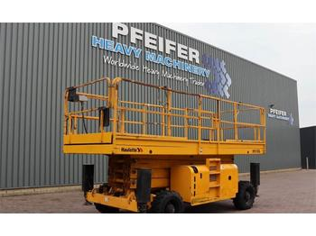 Nacelle ciseaux Haulotte H15SXL Diesel, 4x4 Drive, Mega Deck, 15m Working H