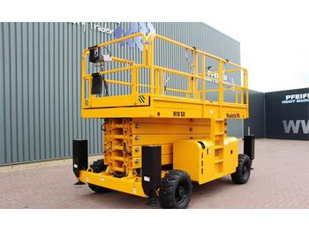Nacelle ciseaux Haulotte H18SX Diesel, 4x4 Drive, 18 m Working Height, Roug